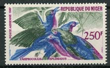 Niger, michel 186, xx
