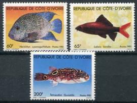 Ivoorkust, michel 673/75, xx