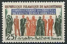 Mauretanie, michel 199, xx