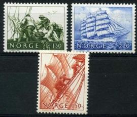 Noorwegen, michel 838/40, xx