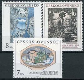 Tsjechoslowakije, michel 3133/35, xx