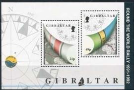 Gibraltar , michel blok 17 , xx