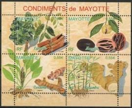 Mayotte, michel blok 11, xx