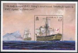 Gibraltar, michel blok 65, xx