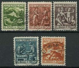 Oostenrijk, michel 442/46, o