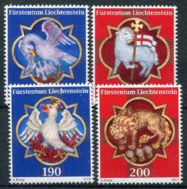 Liechtenstein, michel 1751/54, xx