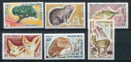 Somalie Frans, michel 336/41, x