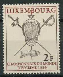 Luxemburg, michel 523, xx