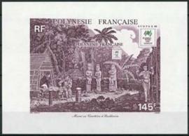 Polynesie, michel blok 14, xx