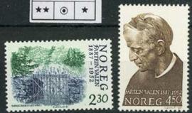 Noorwegen, michel 973/74, xx