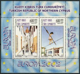 Turks Cyprus, michel blok 20, xx