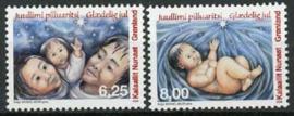 Groenland, michel 547/48, xx