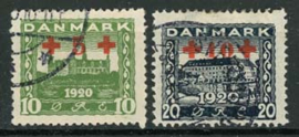 Denemarken, michel 116/17, o