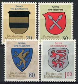 Liechtenstein, michel 450/53, xx