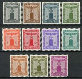 Duitse Rijk, michel D 144/54, xx