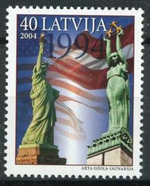 Letland, michel 617, xx