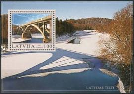 Letland, michel blok 17, xx