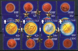 Gibraltar, michel 989/96, xx