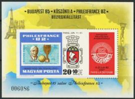 Hongarije, michel blok 157 B, xx
