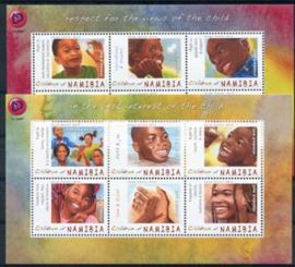 Namibie, michel kb 1440/51, xx