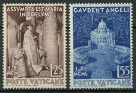 Vatikaan, michel 178/79, xx