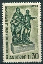 Andorra Fr., michel 201, xx