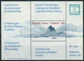 Groenland, michel blok 2 , xx