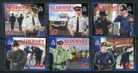 Alderney, michel 218/23, xx