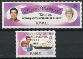 Tuvalu, michel 161/62, xx