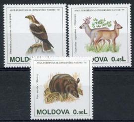 Moldavie, michel 158/60, xx