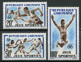 Gabon, michel 172/74, xx