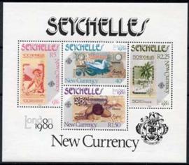 Seychelles, michel blok 13, xx