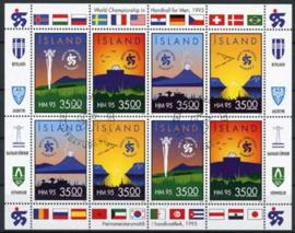 IJsland, michel kb 820/23, o