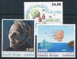 Groenland, michel 669/71, xx
