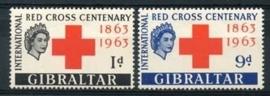 Gibraltar , michel 164/65 , x
