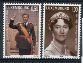 Luxemburg, michel 1852/53, xx