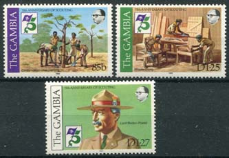 Gambia, michel 438/40, xx