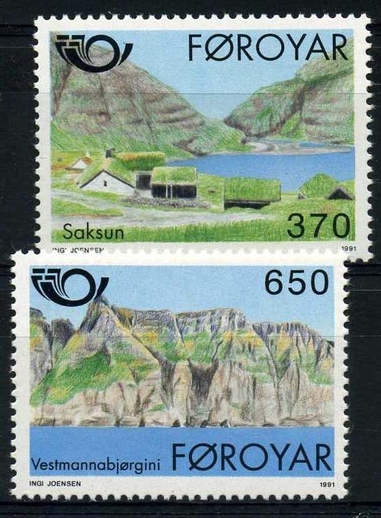 Faroer, michel 219/20, xx