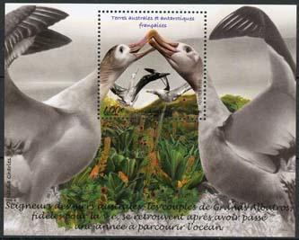Antarctica Fr., michel blok vogels, xx