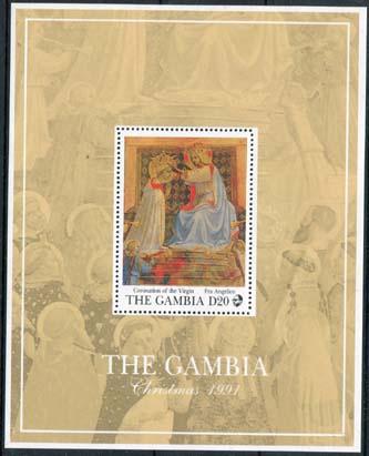 Gambia, michel blok 137, xx