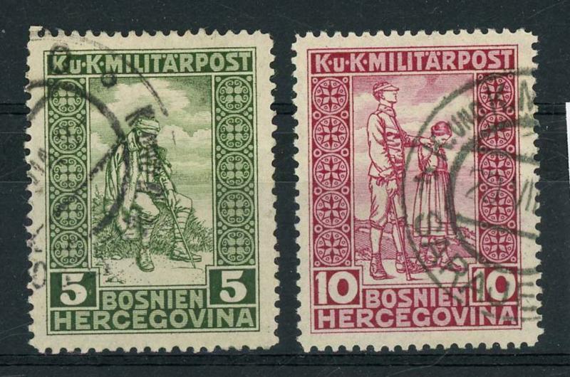 Bosnie Herz., michel 97/98, o
