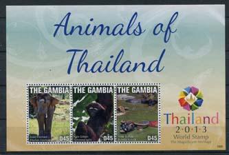Gambia, dieren Thailand, xx