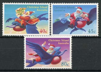 Christmas Isl., michel 408/10, xx