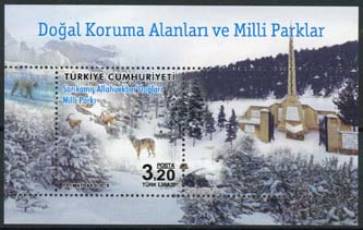 Turkije, michel blok 151, xx