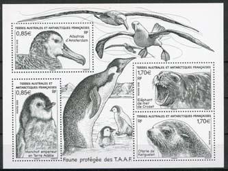 Antarctica Fr., michel blok dieren ,xx