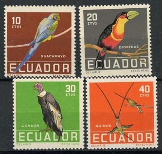 Ecuador, michel 956/59, xx