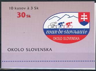 Slowakije, michel MH met 10 x 255, xx