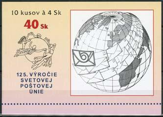 Slowakije, michel MH met 10 x 336, xx