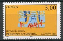 Andorra Fr., michel 525, xx