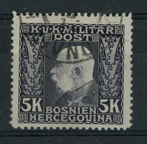 Bosnie Herz., michel 83, o